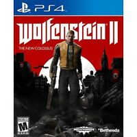 Wolfenstein 2 II The New Colossus PS4 Excellent - quick dispatch