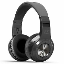 BLUEDIO H-Turbine Bluetooth 4.1 Wireless stereo headphone headset -Black NEW