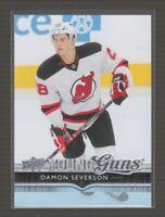 (74255) 2014-15 UPPER DECK YOUNG GUNS DAMON SEVERSON #232 RC