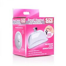 "Size Matters 3.8"" Small Pussy Pump Cup Sensation Enlargement Accessory 