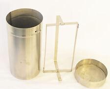 Sterilization Storage For 100 mm Lab Petri Dish Rack w Lid Stainless Steel New