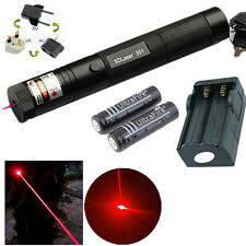 10 Mile Red 1mw 650nm Laser Pointer Pen Light 301 Lazer Visible Beam Zoom Focus