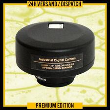 C-MOUNT OCULARE MICROSCOPIO DIGITALE USB PC CAMERA  MC6