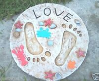 """Chicken duck stepping stone mold concrete plaster mould 12/"""" x 11/"""" x 1.25/"""""""