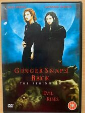 Ginger Snaps Back DVD 2004 Part 3 Female Werewolf Horror Movie
