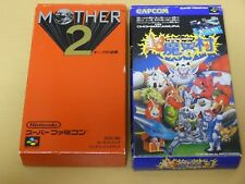 Lot of Super Ghouls 'n Ghosts Cho Makaimura EarthBound Mother 2 sfc snes