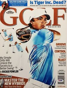Rickie Fowler Signed 11x14 Photo *Golf PGA Tour Wins: 5 PSA W52434