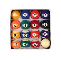 16pcs 25mm Small Billiard Ball Set Pool Balls Table Billiard Miniature Kids Toy