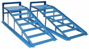 1 Paar 245 PKW-Auffahrrampen extra breit PKW Rampe bis 245er Reifenbreite