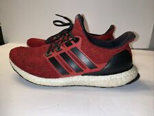 Adidas Men's UltraBoost 4.0 Running Shoes Red/Black EE3703 Size 10 Material