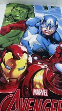 Telo Mare o piscina Avengers Marvel di spugna di Cotone 70x140 cm. A602