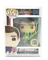Funko Pop! Jeff Dunham and Peanut #03 Autographed (Green) Exclusive Collection