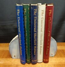 THE UNIVERSAL SHERLOCK HOLMES IN 5 FIVE SPIRAL BOUND VOLUMES  Ronald B. De Waal