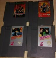 "🌟NES 4 GAME LOT KID ICARUS,METROID,GUANTLET,& NINJA GAIDEN  ""N E W"" CONDITION"
