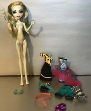 Monster High Doll, Lagoona Blue, Skultimate/Dance Class, Plus Mixed Clothes, Lot