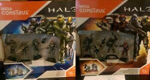 Mega Construx   Halo: Blue Team & Fire Team Osiris BRAND NEW BUNDLE LOT(DYH87)