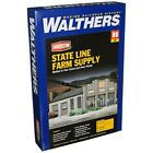 Walthers Cornerstone Series Kit HO Scale State Line Farm Supply