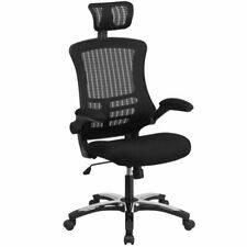 Flash Furniture High Back Executive Office Swivel Chair in Black