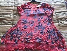 Maglietta donna taglia L/XL rosa/fucsia/blu