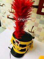HALLOWEEN  French Napoleonic Shako Helmet ARMY NEW YEAR GIFT by KingsArmor