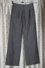 Tu Ladies 100% Linen Trousers ~ Size 8L ~ New Without Tags