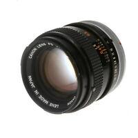 Canon 50mm F/1.4 SSC Breech Lock FD Mount Lens {55} - (UG)