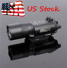 US  Ultra Bright LED X300U 500 Lumens Flashlight Light Fit 20mm Picatinny Rail