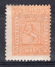 NORWAY 1867/8 STAMP Sc. # 12, MH