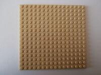 LEGO NINJAGO   1 Bauplatte 91405 in beige 16x16 Noppen beidseitig bebaubar  NEU