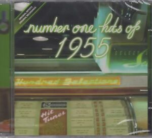 """Number 1 Hits Of 1955 """"Various Artists"""" NEW & SEALED CD Posted From The UK"""