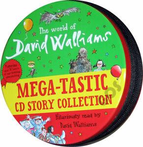 David Walliams Mega Audio Book Collection Tin Set 32 CDs Children's Stories New