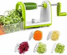 Bonsenkitchen Spiralizzatore, Spiralizer per verdure Affettatrice di verdure...