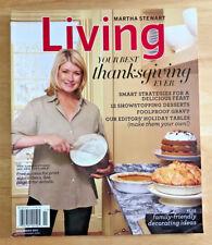 Martha Stewart Living 2011 Thanksgiving Ladles Gravy Towering Desserts Muffins