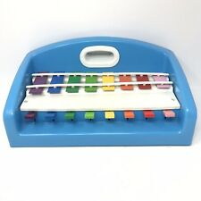 Little Tikes Vintage 1985 Xylophone/Piano Tap A Tune  Musical Toy Blue