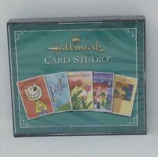 Hallmark Card Studio 2006 PC 3 CD-ROMs Creative Home for Windows 98/Me/2000/XP