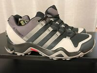 adidas Terrex Mens Shoes AX2R Gore Tex Waterproof Gray Hiking Shoes 9