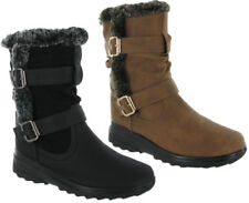 Cushion Walk Zip Synthetic Boots for Women