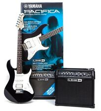 00043509 - LOT DE GUITARE ELECTRIQUE YAMAHA PACIFICA 012 + AMPLI SPIDER 15