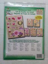 Plaid FolkArt One Stroke Worksheet Pack #1006 Cabbage Roses Pack