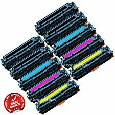 10PK Compatible CC530A 531A CC533A toner Set For HP 304a Laserjet CP2025 CM2320
