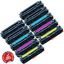 10PK Compatible CC530A CC531A CC533A toner Set For 304a Laserjet CP2025 CM2320