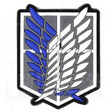 Attack on Titan-The Survey Corps Badge Wings of Freedom 3D PVC Patch