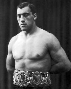 PRIMO CARNERA 8x10 Boxing Photo Boxer Poster Glossy Print Heavyweight Champion