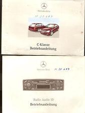 Betriebsanleitung Mercedes Benz C-Klasse Handbuch Bordbuch Ausgabe 2002 m Tasche