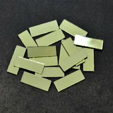 Shisha Mirrors for Embroidery and Craft Purpose, Rectangle Shape,8*22Mm, 100Pcs
