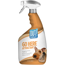 out Go Here Attractant Indoor Outdoor Dog Training Spray 32 Oz 2 Days Ship