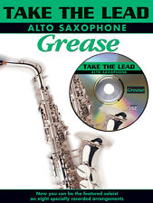 Take the Lead. Grease (alt sax/CD) 0571528767 Alto Saxophone Book with CD Faber