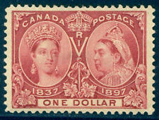 CANADA #61 CHOICE MInt VF/XF - 1897 $1.00 Jubilee