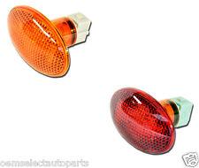 NEW OEM 1999-2010 F-350 RED, AMBER Side Marker Rear Fender Lamp PAIR 2 - Light