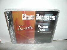 2 ELMER BERNSTEIN SOUNDTRACKS,LAURETTE,PRINCE JACK,LTD EDTION